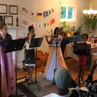 Fall Flute Recital - Music Around the World  October 6, 2018 - Lutherville, MD