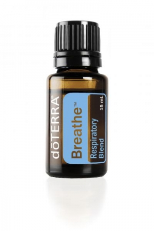 Breathe essential oil blend supports a healthy respiratory system. It promotes easy breathing and reduces the effects of seasonal threats.
