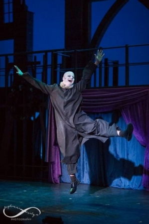 Performing as Uncle Fester in The Addams Family in Boston, MA