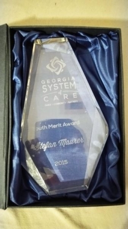 Georgia System of Care Youth Merit Award 2015