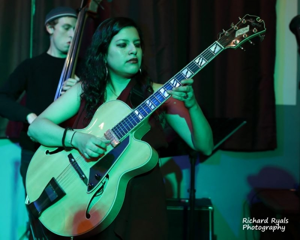 Playing with my quintet at Starr bar