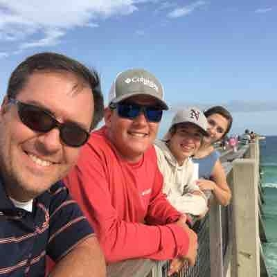 Father's Day on the pier
