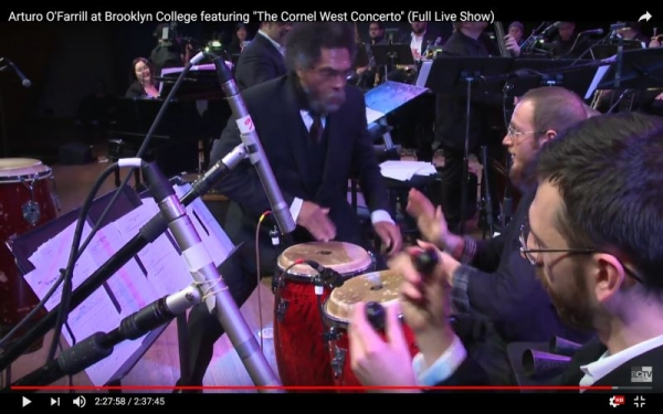 Drum Solo with Cornel West