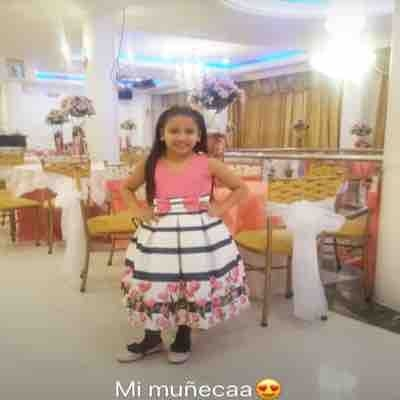 A little friend of mine that speaks Spanish. When I was in Ecuador, I would teach her English and help her with her English homework.