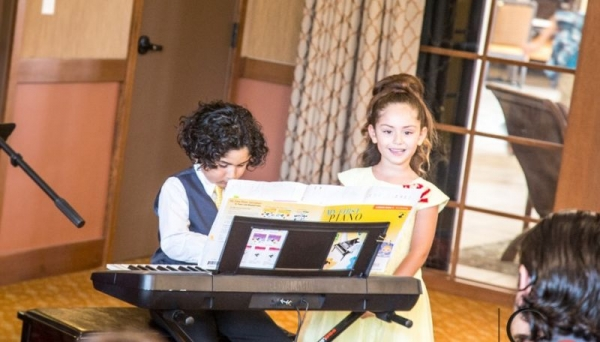 """Siblings performing """" My Favorite Things"""" from The Sound Of Music, at the Summer recital!"""