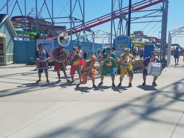 Cedar Point: Beach Band Brass Band