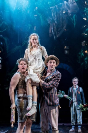 """As Slightly Soiled in """"Wendy & Peter Pan"""" at the Royal Shakespeare Company, 2015."""