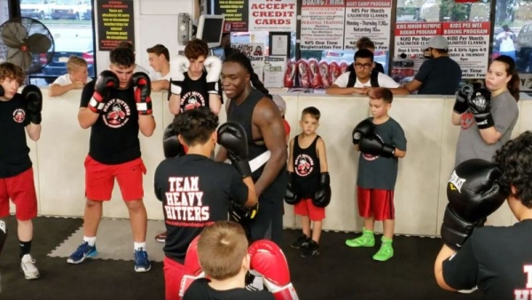 The feeling I get when I teach kids that are eager to learn the  art of boxing as much I love to teach it is describable.
