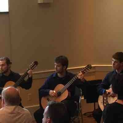 Performance with TCNJ Guitar Ensemble