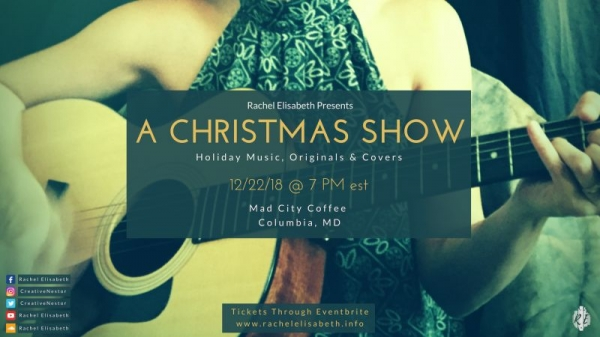 A Christmas Show :: Mad City Coffee in Columbia, MD :: 12/22/18 @ 7 PM est