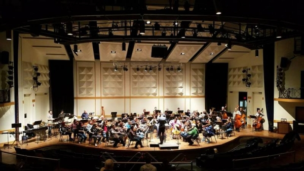 Dress Rehearsal with the Kalamazoo Philharmonia