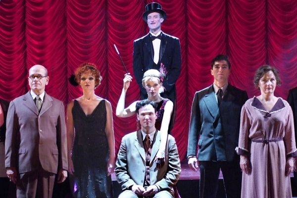 "Main cast of ""Cabaret"" at LA's Reprise Theater Company (2011)."