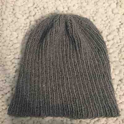 Basic rib stitch hat. If you want to learn how to make this please contact me. I would love to teach you
