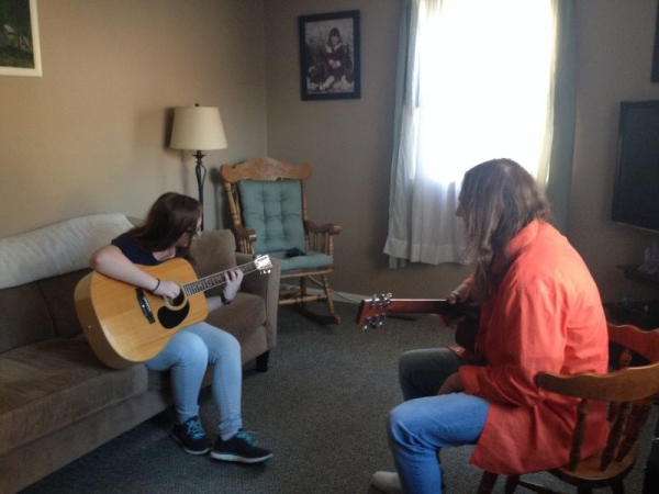Guitar Lessons...in YOUR home!