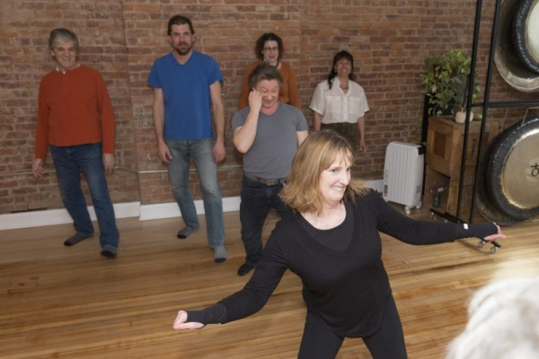 Sound and movement, Anahata Yoga Studio Voice Workshop, Kingston, NY