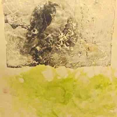 "Encaustic ""beeswax"" painting"