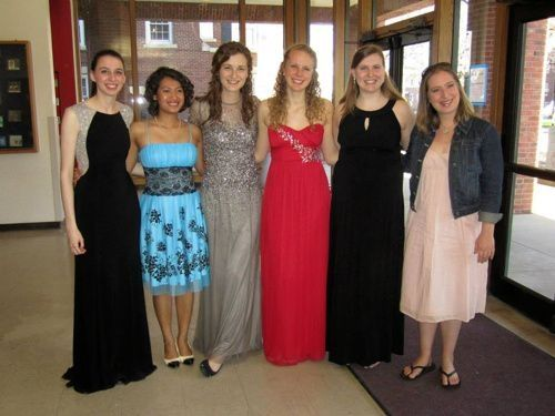 2014-2015 students at flute studio recital