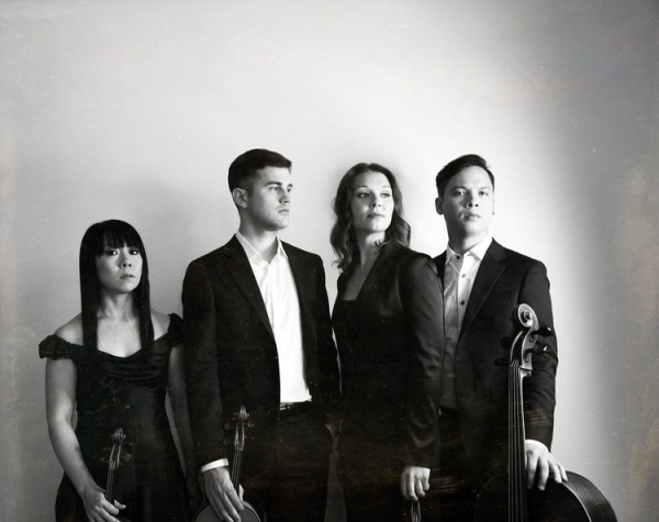 This is my group. the Attacca Quartet. We have been together since 2003.