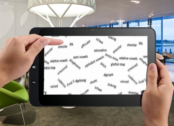 The elements of North-American Accent-Reduction training for easy, confident, efficient traveling across cultures, for your tablet or other.