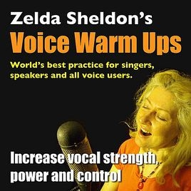 Zelda Sheldon's Voice Warm up program available on ITunes