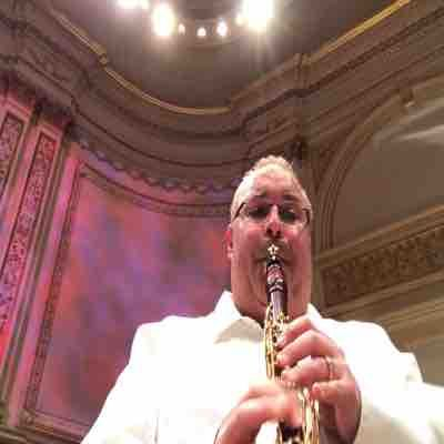 Carnegie Hall as Principal Clarinetist with the World Peace Orchestra 2016.