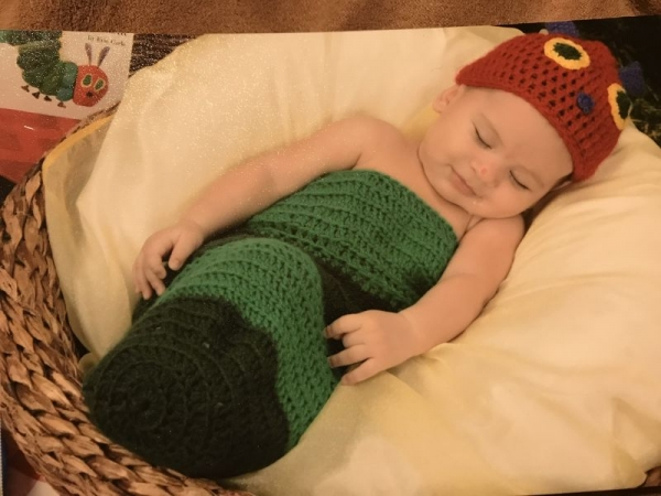 Hungry caterpillar cocoon