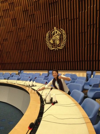 great experience at the UN