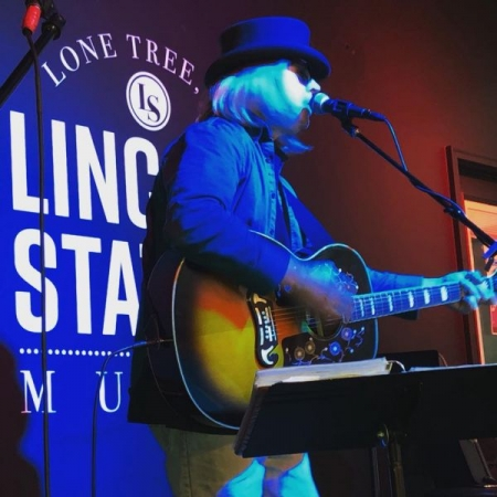 "me performing as ""Tom"" Petty in 2018 in Lone Tree, Co"
