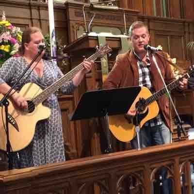 Bluegrass for special music at church.