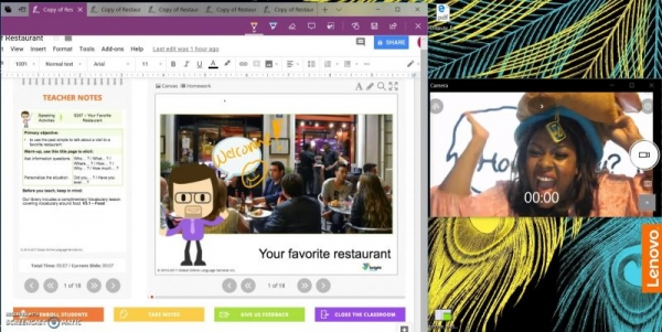 Teaching Demo: Exploring your favorite restaurant has never been so much fun!