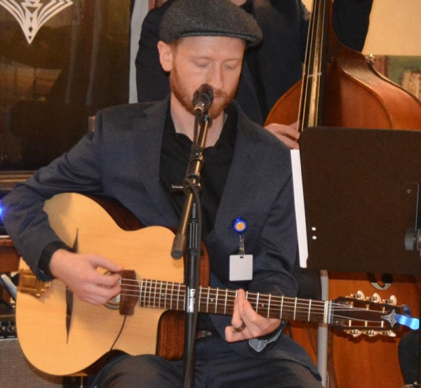 Gigging with my gypsy jazz band