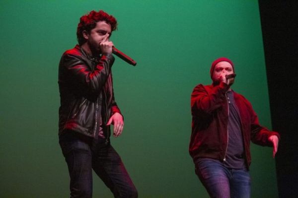 Forest Fire performing at SoJam 2018 A Cappella Festival.