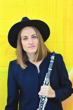 Four Play clarinet Artist (promotional picture)