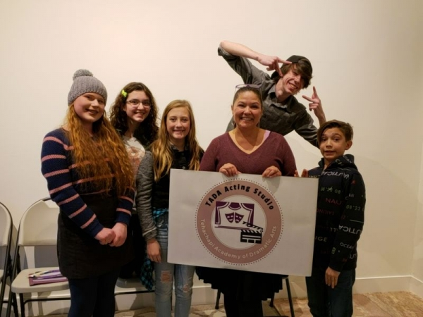Theatre Creators Teens has now begun rehearsals in our newly renovated studio.  Tehachapi California January 2019