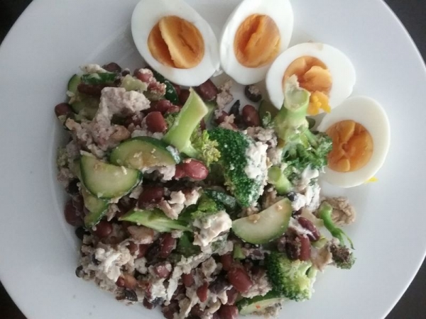 High protein, slow carb breakfast