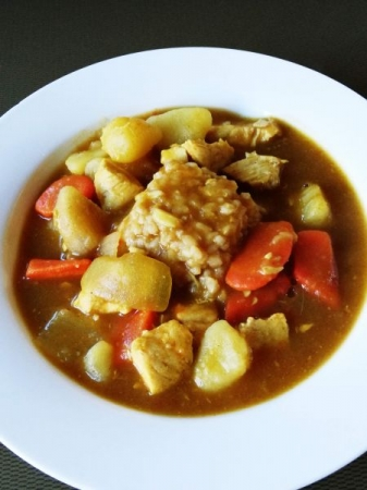 Chicken Curry over brown rice