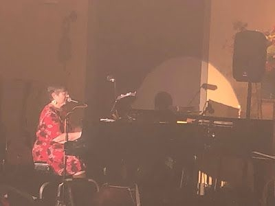 Performing at a local fundraiser in 2018