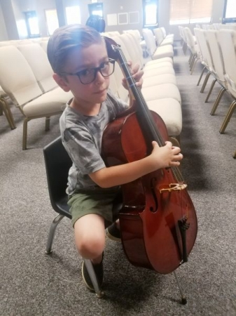 Small cello for a small dude