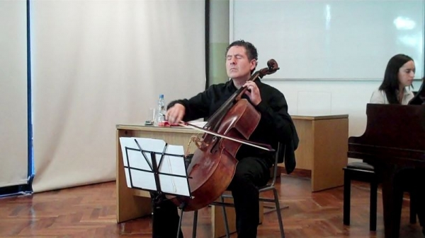 Recital and Lecture at The Catholic University of Buenos Aires, Argentina.
