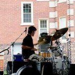 Performing at the Dally in the Alley Festival (Detroit, MI).