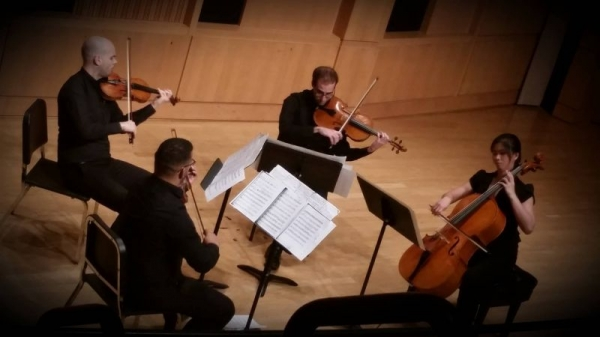 A performance with Midas String Quartet; finalist of Music Teacher's Association Chamber Music Competition