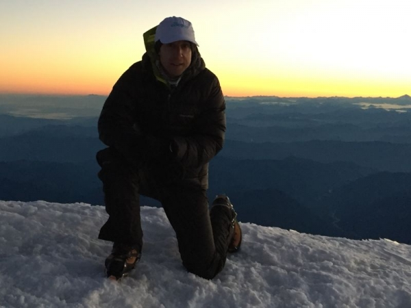 Recent successful Mt. Rainier Climb.