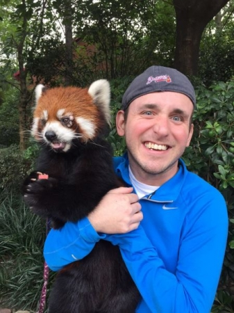 I met this little guy during my time in China!