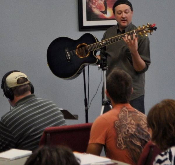 Teaching guitar theory masterclass