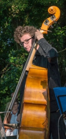 Performing at the Classical Beat Festival in Eutin, Germany in May 2018.