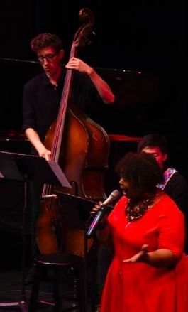 Perfroming with international artist Deborah Brown at the Lied Center of Kansas