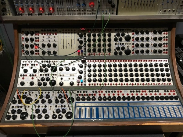 Buchla 200e. In spring 2018 I premiered a wordless opera which featured this instrument as the main character.