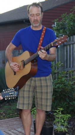 Just jamming in the back yard!