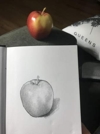 A recent drawing
