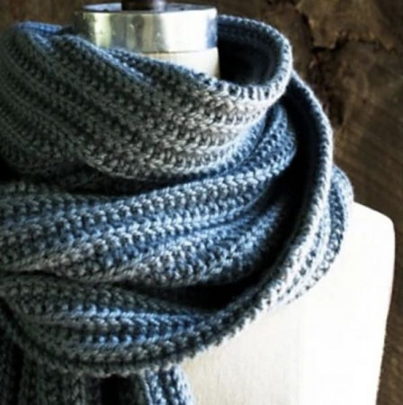 This beautiful scarf by Purl Soho is a great beginner project. Make it as a gift, or for yourself!